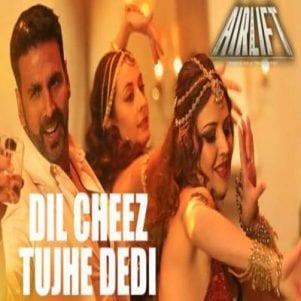 Dil Cheez Tujhe Dedi Free Karaoke