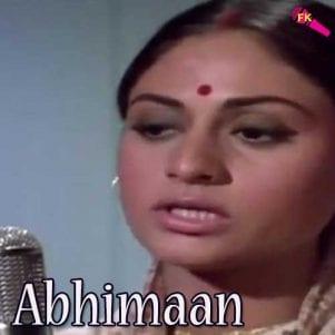 Ab To Hai Tumse Free Karaoke - Abhimaan