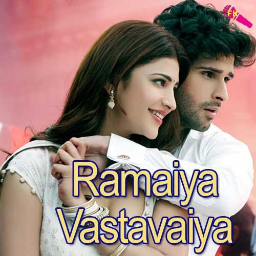 Download Title Song Of Bepanah By Rahul Jain: Ramaiya Vastavaiya Movie Free Karaoke