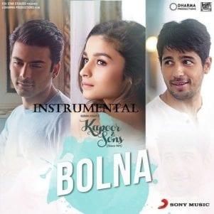 Bolna Free Instrumental Karaoke