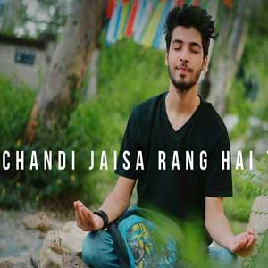 Chandi Jaisa Rang Hai Tera - Unplugged Cover Free Karaoke