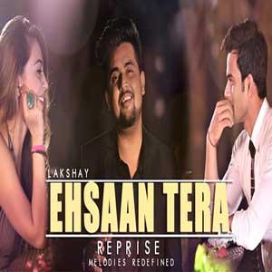 Ehsaan Tera - Cover Free Karaoke